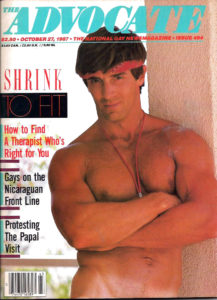 The ADVOCATE Magazine (October 1987) The National Gay News Magazine