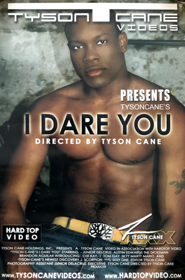 Tyson Cane - I DARE YOU - Poster 17x11""