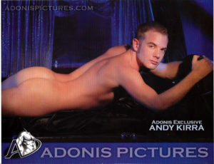 "Adonis Pictures - ANDY KIRRA - Print 11x8.5"""