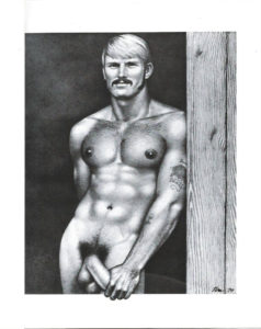Tom of Finland - Blonde and Hung - Tom 79 - Print 11.5x9.25""