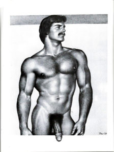 """Tom of Finland - Hung and Hairy - Tom 79 - Print 11.5x9.25"""""""