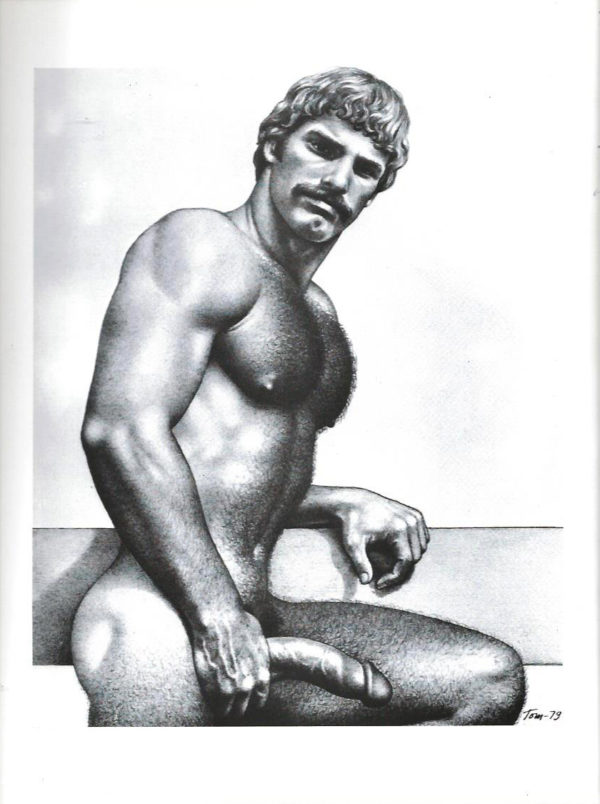 """Tom of Finland - Blonde, Hung and Hairy - Tom 79 - Print 11.5x9.25"""""""