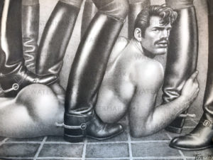 "Tom of Finland - BOOTS 1978 - 19.5 x 13.5"" Print"