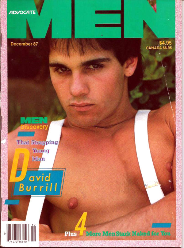 ADVOCATE MEN Magazine (December 1987) Male Erotic Magazine