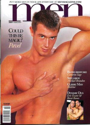 MEN Magazine (February 2001 ) Male Erotic Magazine