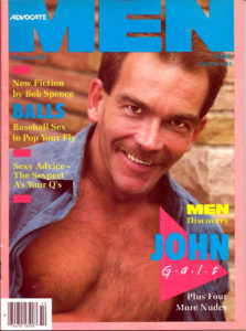 ADVOCATE MEN Magazine (February 1988) Male Erotic Magazine