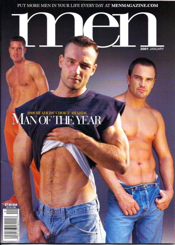 MEN Magazine (January 2001 ) Male Erotic Magazine