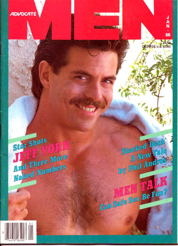 ADVOCATE MEN Magazine (January 1986) Male Erotic Magazine