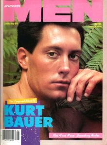 ADVOCATE MEN Magazine (January 1988) Male Erotic Magazine