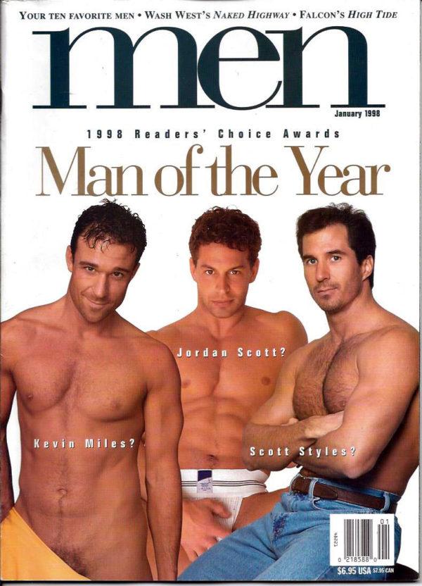 MEN Magazine (January 1998) Man of the Year