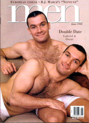 MEN Magazine (June 1998 ) Male Erotic Magazine