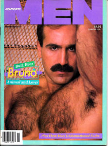 ADVOCATE MEN Magazine (November 1987) Male Erotic Magazine