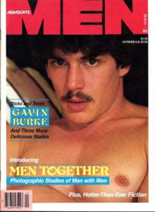 ADVOCATE MEN Magazine (October 1985) Male Erotic Magazine