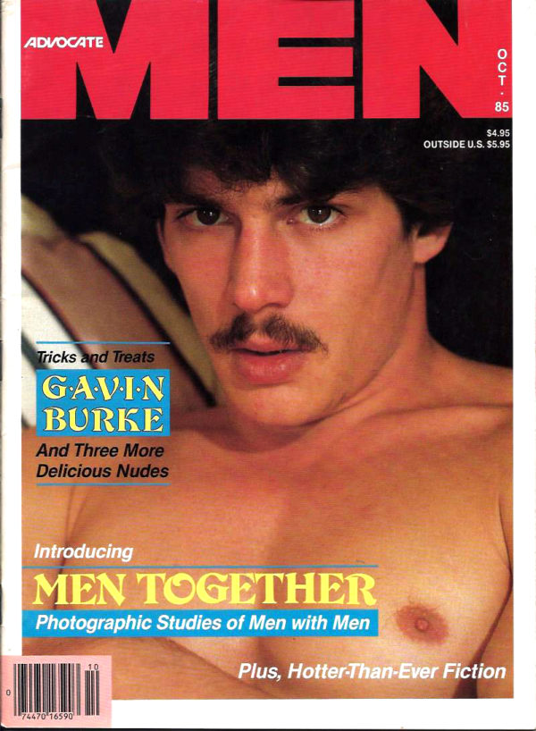 ADVOCATE MEN Magazine (October 1985) Male Erotic Magazine