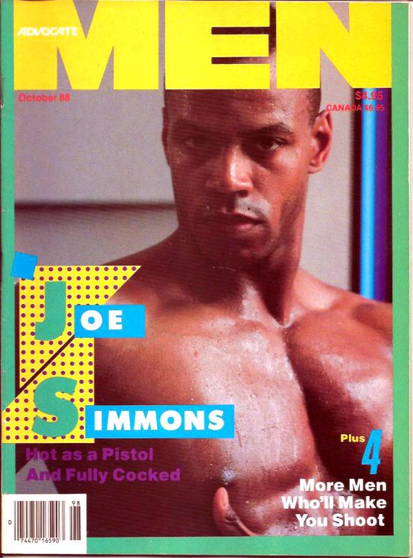 ADVOCATE MEN Magazine (October 1988) Male Erotic Magazine
