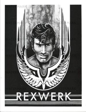 REX 1 - Rexwerks - Print Size 11x8.5