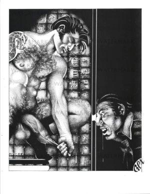 REX 14 - Foreskin - Print Size 11x8.5