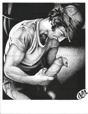 REX 15 - Big Foreskin - Print Size 11x8.5