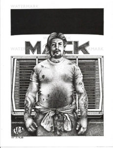 REX 2 - Mack - Print Size 11x8.5