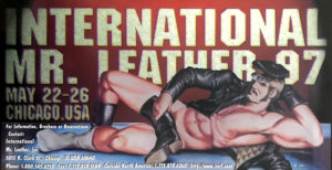 International Mr.Leather 1997 - By Etienne - Rare Print Poster 24x12""