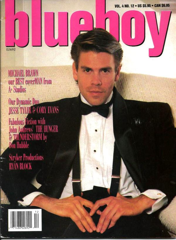 BLUEBOY Magazine (Volume 4 Number 12) Gay Adult Lifestyle