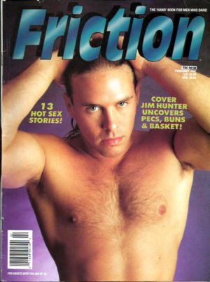 FRICTION Magazine (February 1992) New Fiction from Advocate Men