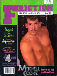 FRICTION Magazine (June 1989) New Fiction from Advocate Men