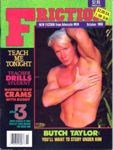 FRICTION Magazine (October 1988) New Fiction from Advocate Men