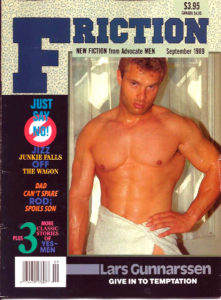 FRICTION Magazine (September 1989) New Fiction from Advocate Men