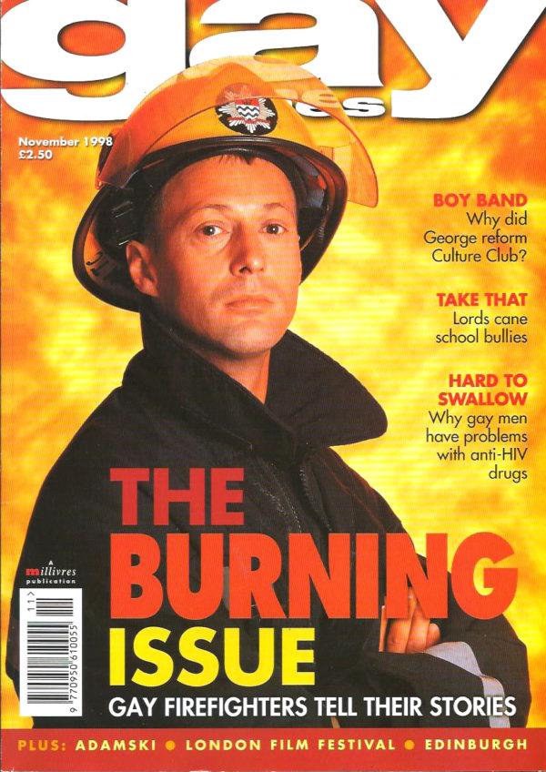 GAY TIMES Magazine ( November 1998 Issue 242) Gay Lifestyle Magazine
