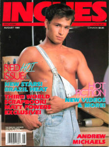 INCHES Magazine (August 1989) Gay Pictorial Lifestyle Magazine