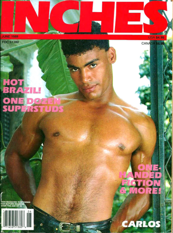 INCHES Magazine (June 1988) Gay Pictorial Lifestyle Magazine