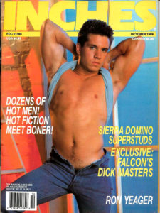 INCHES Magazine (October 1989) Gay Pictorial Lifestyle Magazine