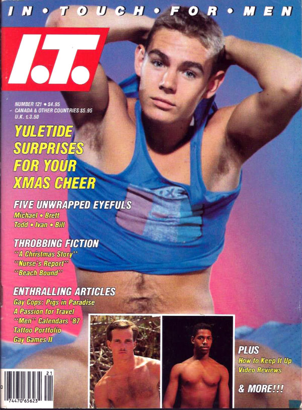 IN TOUCH FOR MEN Magazine (Number 121) Gay Lifestyle Magazine