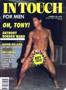 IN TOUCH FOR MEN Magazine (Number 168) Gay Lifestyle Magazine