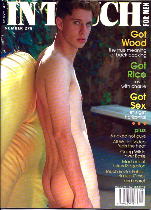 IN TOUCH FOR MEN Magazine (Number 278) Gay Lifestyle Magazine