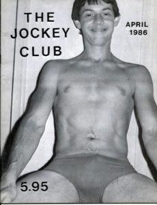 THE JOCKEY CLUB Magazine ( Volume 1, Number 4 ) 1986 Gay Vintage Magazine