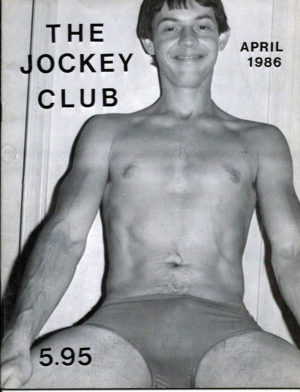 THE JOCKEY CLUB Magazine ( Volume 1, Number 4 ) 1986 Gay Vintage Magazine