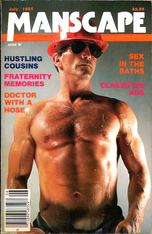 MANSCAPE (Volume 1 #8 - Released July 1985) Gay Erotic Stories Paperback