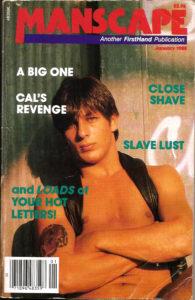 MANSCAPE (Volume 3 #8 - Released January 1988) Gay Erotic Stories Paperback