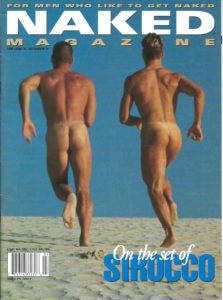NAKED Magazine ( Volume 2 Issue 2 ) Gay Adult Magazine