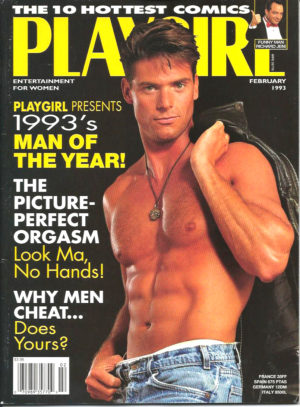 PLAYGIRL Magazine (February 1993) Erotic Men Magazine