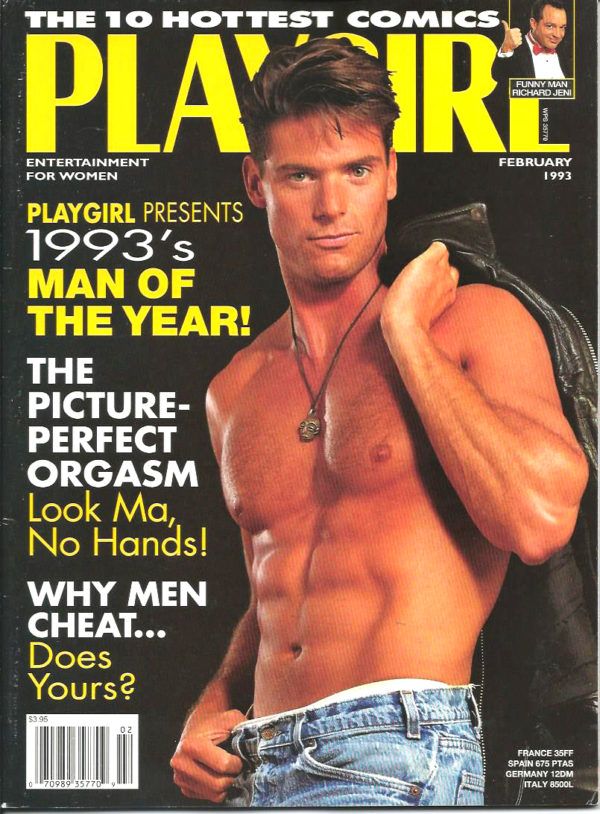 PLAYGIRL Magazine (February 1993) Erotic Men Magazine