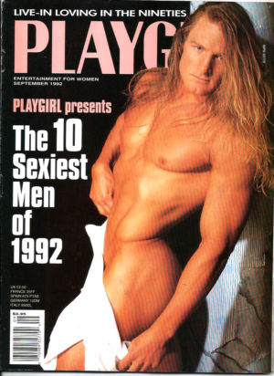 PLAYGIRL Magazine (September 1992) Erotic Men Magazine