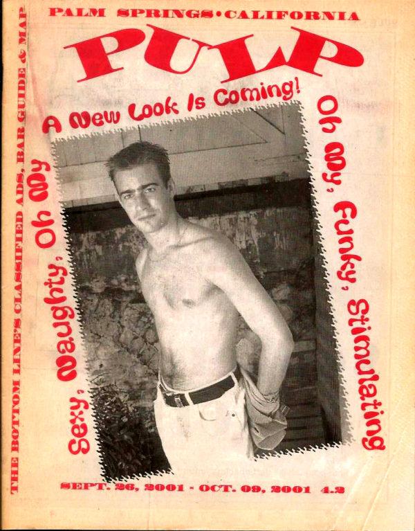 PULP Magazine ( September 2001 ) Palm Springs, California Magazine