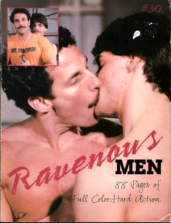 RAVENOUS MEN Magazine (by LeSALON) Gay Adult Magazine