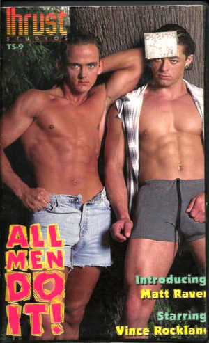 Vintage VHS Tape: ALL MEN DO IT