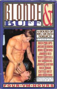Vintage VHS Tape: BLONDE & BUFF