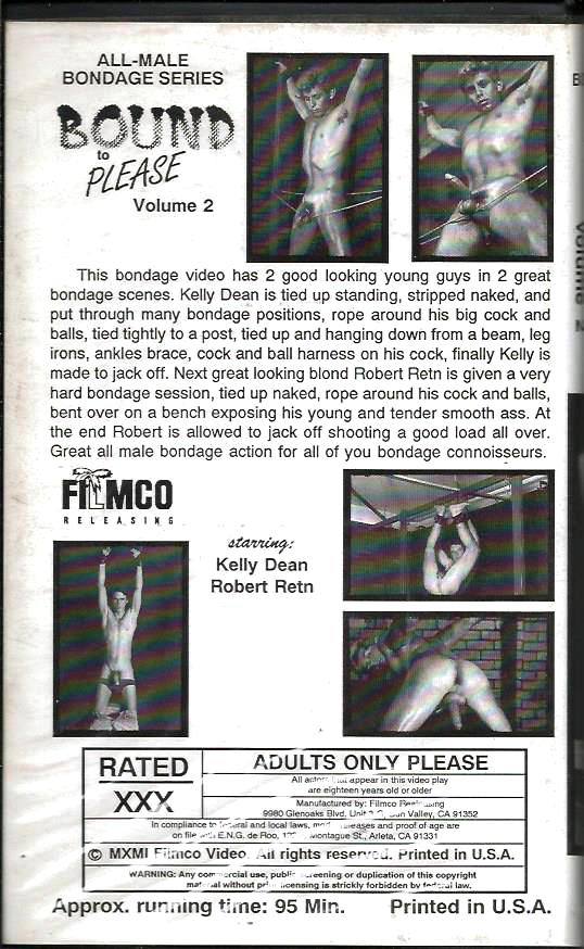 Vintage VHS Tape: BOUND to PLEASE - Volume 2