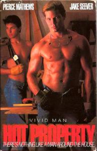 Vintage VHS Tape: HOT PROPERTY - by Vivid Man